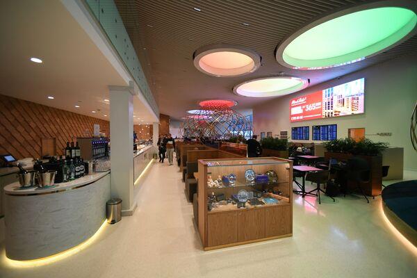 Бизнес-зал Рублев в терминале B аэропорта Шереметьево