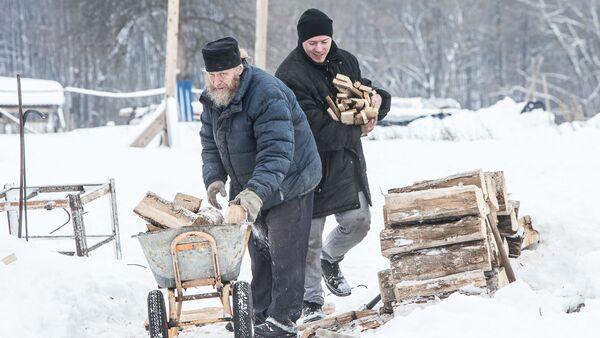 На территории монастырского скита в селе Новотроевке Белгородской области