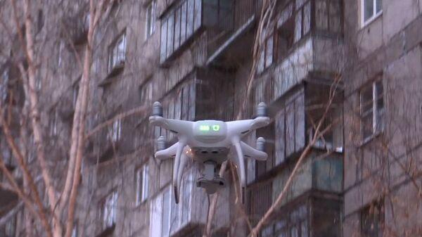 Житель Магнитогорска помог спасателям, снимая с дрона место ЧП