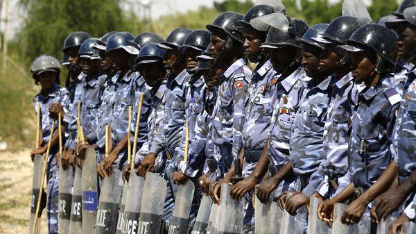 Суданская полиция