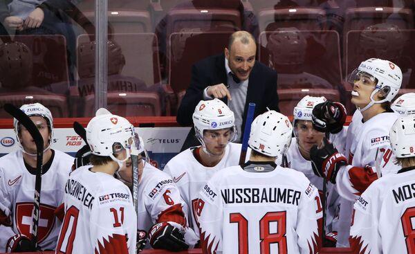 Главный тренер молодежной сборной Швейцарии Кристиан Вольвенд
