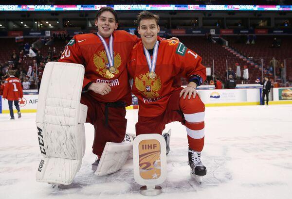 Пётр Кочетков (слева) и Степан Старков