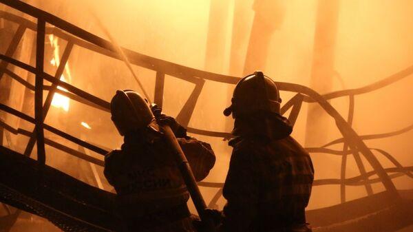 Пожар технологической установки на Приобском месторождении нефти. 6 января 2019