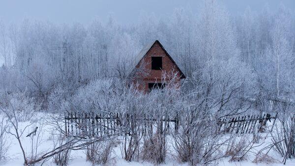 Недостроенная дача в Омской области