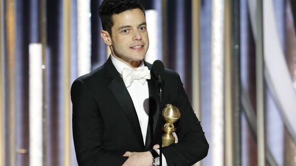 Рами Малек завоевал награду Золотой глобус в категории лучший актер в драме за роль рок-певца Фредди Меркьюри