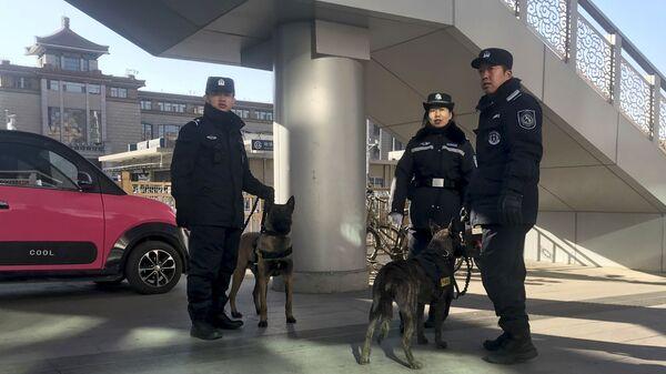 Полиция в Пекине, Китай