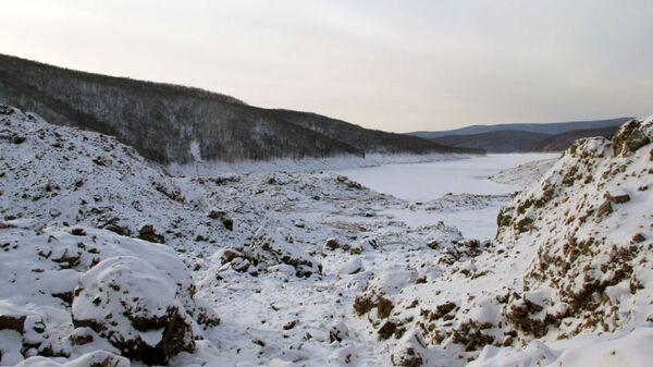 Оползень в Верхнебуреинском районе Хабаровского края