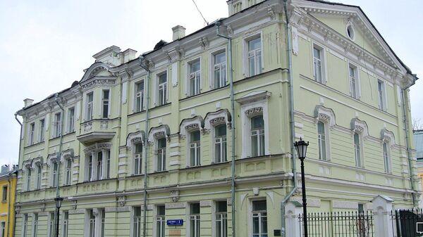 Доходный дом начала XX века на улице Забелина в Москве