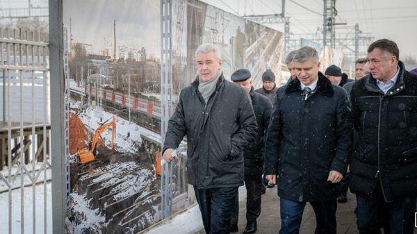 Открытие новой железнодорожной платформы Карачарово