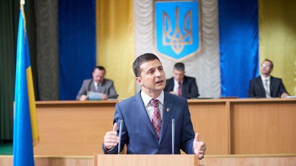 Владимир Зеленский в фильме Слуга народа