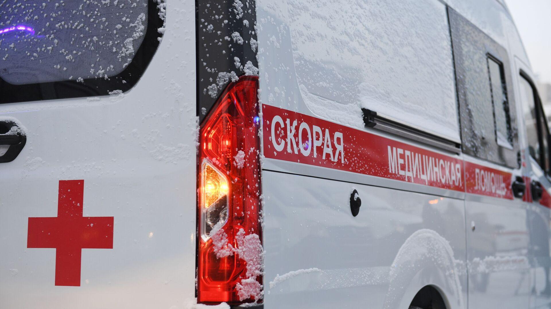 Автомобиль скорой помощи - РИА Новости, 1920, 28.01.2021