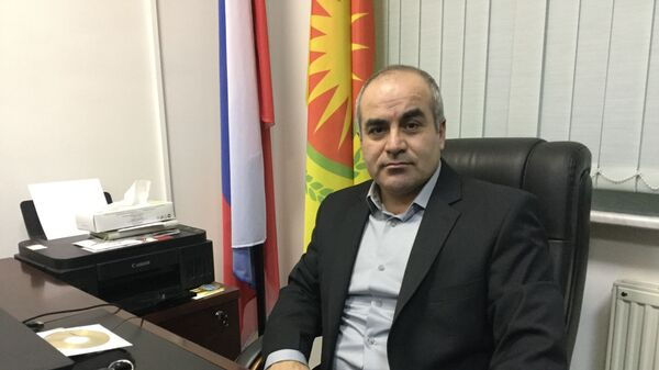 Представитель сирийского Курдистана в Москве Ршад Биенаф
