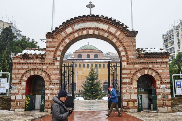 Храм Святой Софии в Салониках