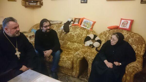 Протоиерей Дмитрий Моисеев и игуменья Феофила (Лепешинская)