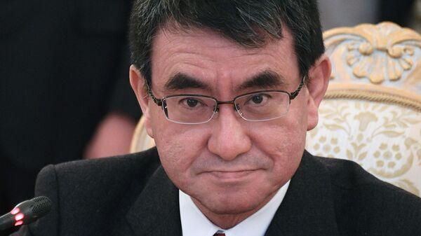 Министр иностранных дел Японии Таро Коно