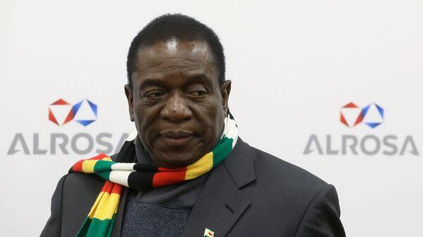 Президент Республики Зимбабве Эммерсон Мнангагва посетил предприятие ЕСО Алроса