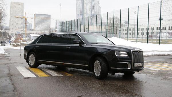 Российский лимузин Aurus проекта Кортеж