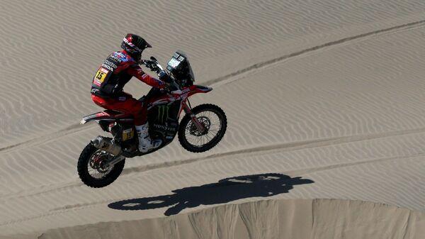Рики Брабец на Honda