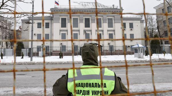 Здание посольства РФ в Киеве