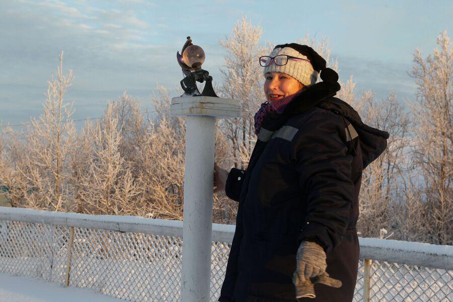 Нина Александровна Откупщикова, старший техник на станции М-2, Архангельск