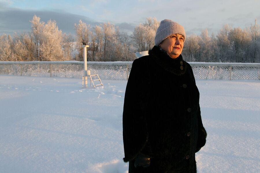 Любовь Дмитриевна Исупова, начальник метеорологической станции, Архангельск