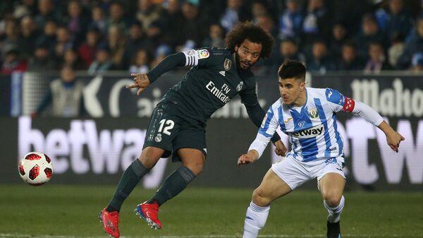 Матч Кубка Испании Леганес - Реал