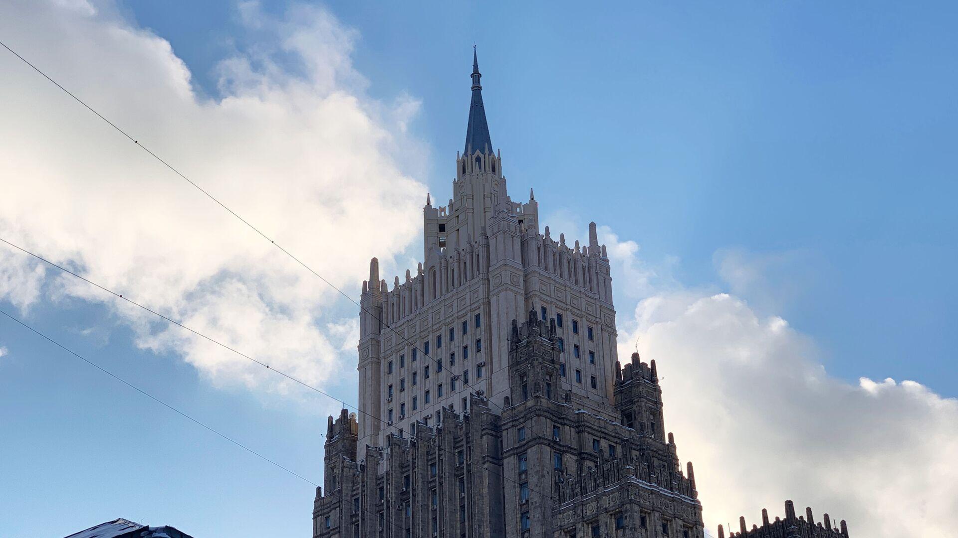 Здание министерства иностранных дел РФ - РИА Новости, 1920, 10.06.2021