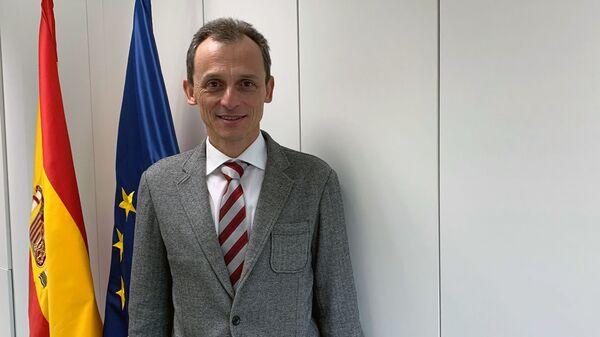 Министр науки, инноваций и университетов Испании Педро Дуке