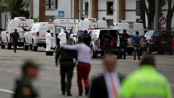 Взрыв в школе полиции в Боготе
