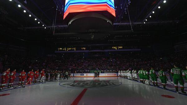 Церемония открытия мастер-шоу Звезд КХЛ
