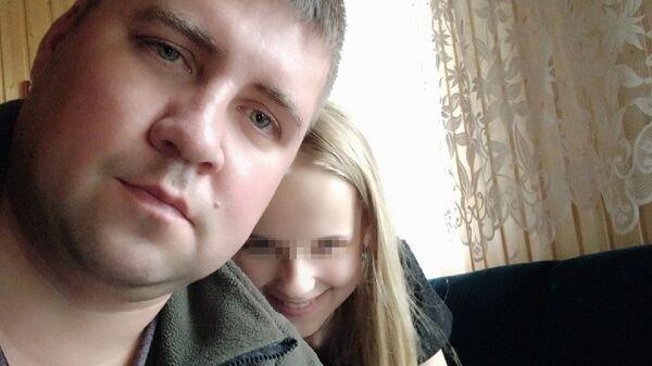 Кирилл вместе со старшей дочкой