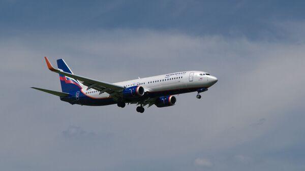 Самолет Boeing 737-8LJ авиакомпании Аэрофлот