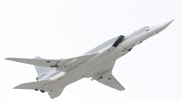 Сверхзвуковой стратегический бомбардировщик-ракетоносец Ту-22М3