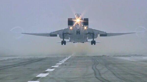 В Мурманской области разбился бомбардировщик Ту-22М3