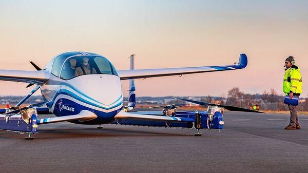Испытательный полет автономного пассажирского воздушного судна (PAV)
