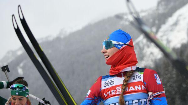 Светлана Миронова выиграла масс-старт на чемпионате России в Тюмени