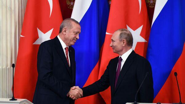Путин и Эрдоган проведут 8 апреля в Москве заседание Совета сотрудничества