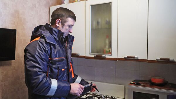 Проверка газового оборудования в жилых домах