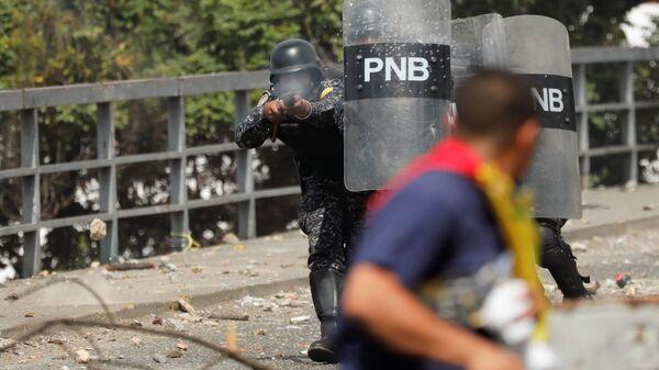 Столкновения в Каракасе. 23 января 2019