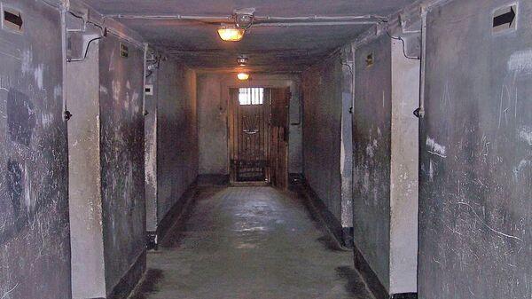 Газовая камера в концлагере Освенцим