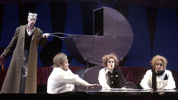 Сцена из оперы Дети Розенталя в Большом театре, 2005