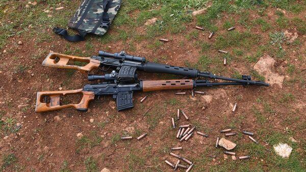 Снайперские винтовки СВД