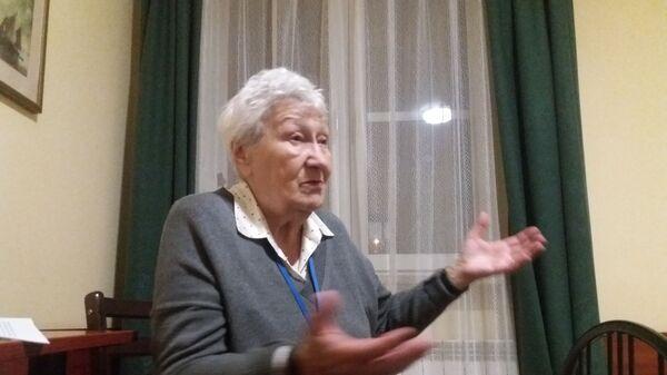 Бывшая узница нацистского концентрационного лагеря Аушвиц-Биркенау Мария Хёрл