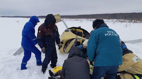Жесткая посадка летательного аппарата в Богородском районе Нижегородской области