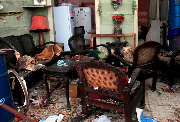Последствия торнадо Гавана Куба