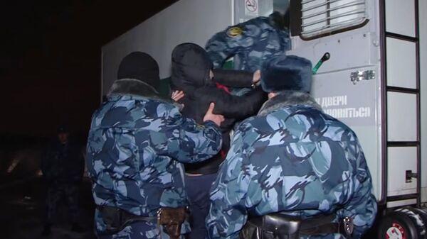 Этапирование участников банды Аслана Гагиева