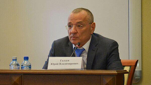 Исполняющий обязанности главы администрации Белгорода Юрий Галдун