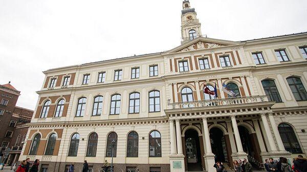 Здание городской Думы в Риге