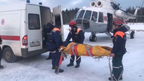 Операция по спасению туристов на севере Свердловской области
