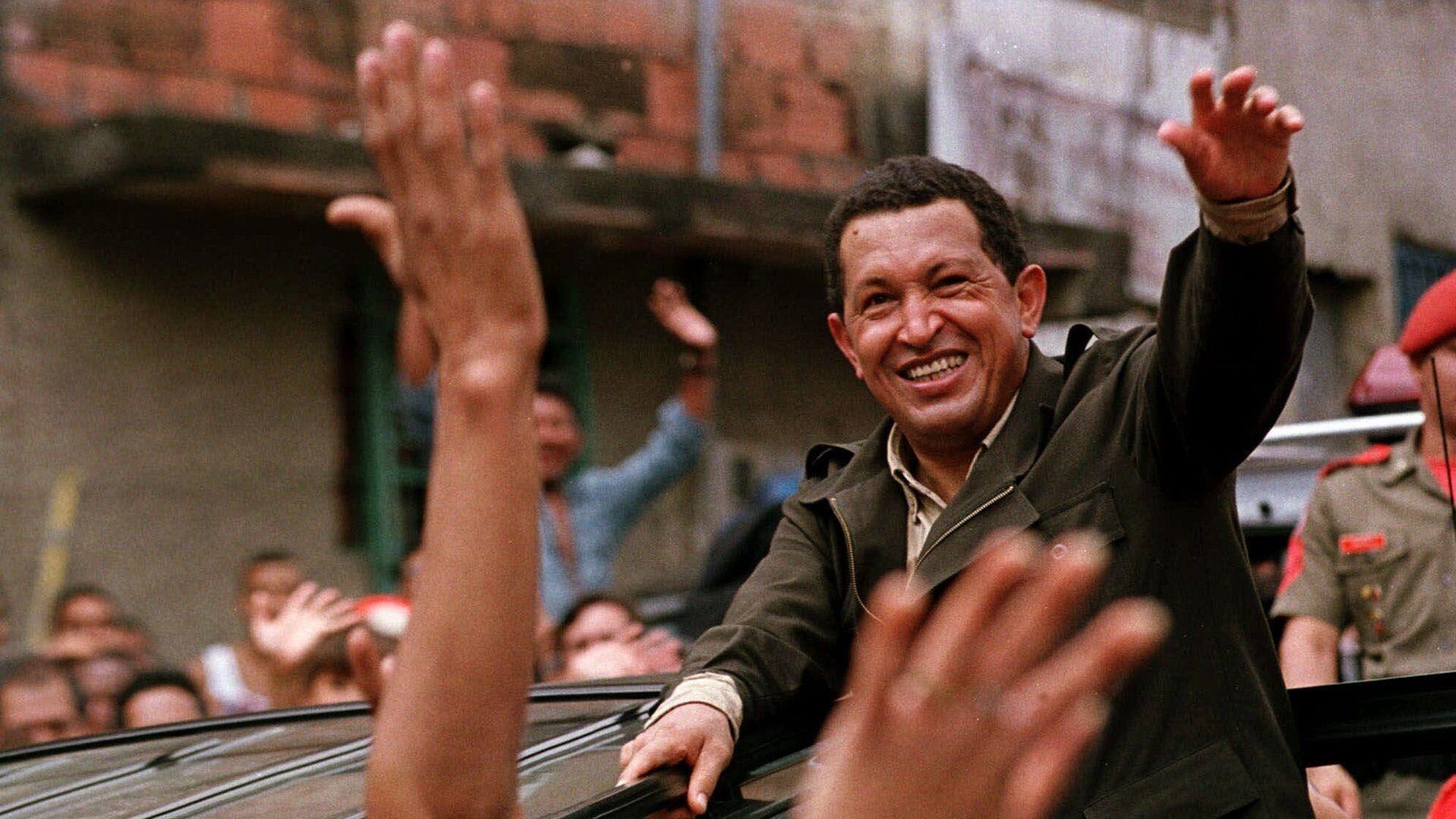 Президент Венесуэлы Уго Чавес. 1999 год - РИА Новости, 1920, 02.02.2019